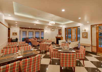 Ashdale boutique hotel dining